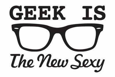 Geek is the New Sexy Snorg Tees Poster