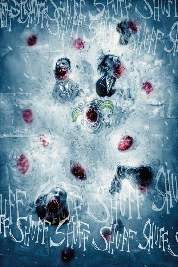 30 Days Of Night Red Snow Full Page Art Photo By Ben Templesmith