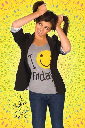 Rebecca Black - Smiley Poster
