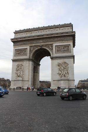 Arc de Triomphe Paris France Photo Art Print Poster
