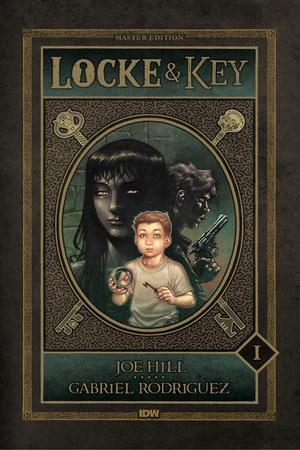 Locke and Key: Volume 1 Welcome to Lovecraft - Cover Art
