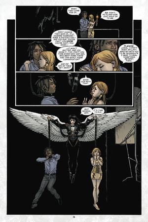 Locke and Key: Volume 6 - Comic Page with Panels