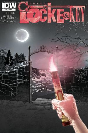 Locke and Key: Omega 4 - Cover Art