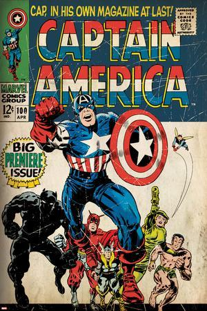 Marvel Comics Retro Style Guide: Captain America, Black Panther, Thor