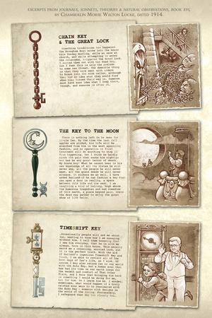 Locke and Key: Guide to the Known Keys - Bonus Material
