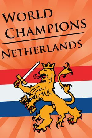 Netherlands (2010 World Cup Champions) Sports Poster Print
