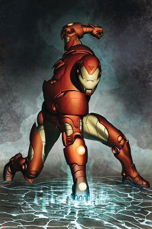Iron Man No.76 Cover: Iron Man