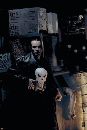 Punisher No.9 Cover: Punisher