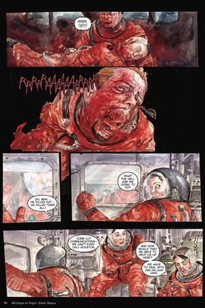 30 Days of Night: Three Tales - Comic Page with Panels