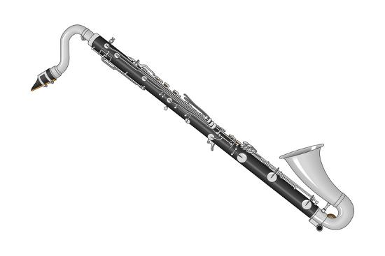 Bass Clarinet Woodwind Musical Instrument Photo By