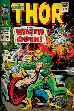 Marvel Comics Retro Style Guide: Thor, Loki