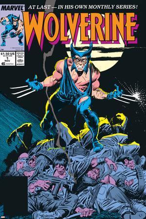 Wolverine No.1 Cover: Wolverine