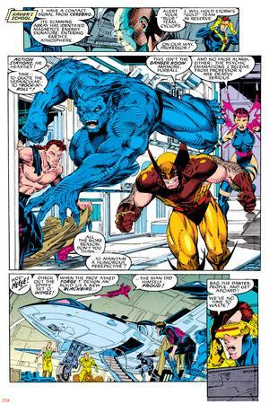 X-Men No.1 Group: Beast, Wolverine and Psylocke