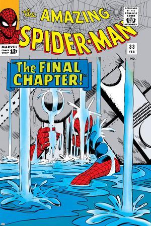 Amazing Spider-Man No.33 Cover: Spider-Man