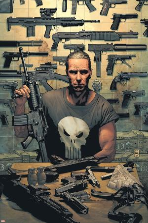 Punisher No.1 Cover: Punisher