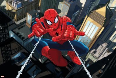 Ultimate SpiderMan - Art - Situational Art