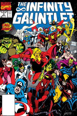 Infinity Gauntlet No.3 Cover: Adam Warlock