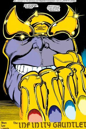Infinity Gauntlet No.2 Headshot: Thanos