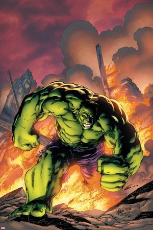 Marvel Adventures Hulk No.1 Cover: Hulk