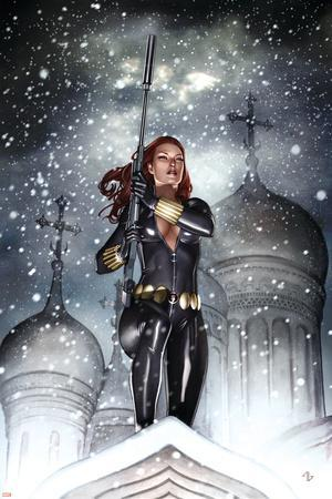 Black Widow: Deadly Origins No.2 Cover: Black Widow