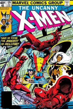 Uncanny X-Men No.129 Cover: Wolverine, Colossus, Storm and X-Men