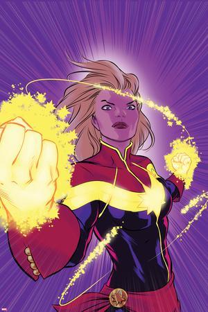 Captain Marvel No. 12 Cover