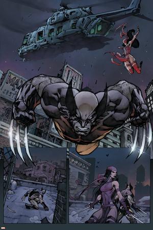 Savage Wolverine #7 Featuring Wolverine, Elektra