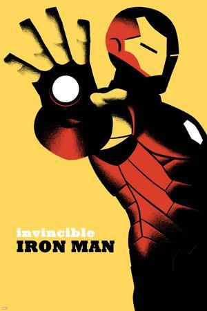 Invincible Iron Man No.6 Cover