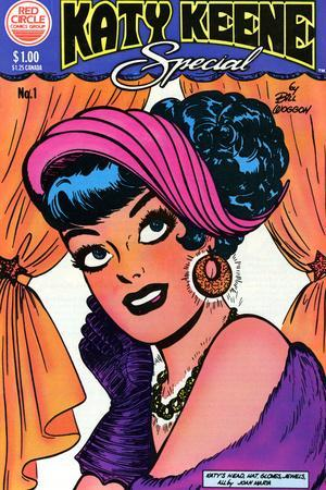 Archie Comics Retro: Katy Keene Special Comic Book Cover No.1 (Aged)