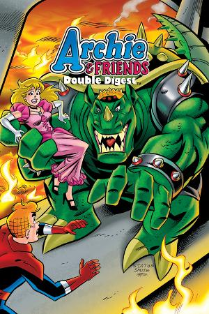 Archie Comics Cover: Archie & Friends Double Digest No.2  Adventures In The Wonder Realm