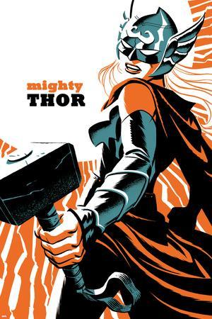 Mighty Thor No. 4 Cover Featuring Thor (Female)