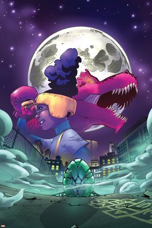 Moon Girl and Devil Dinosaur No. 7 Cover Art