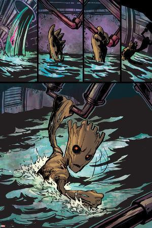 Guardians of the Galaxy Panel Featuring Groot