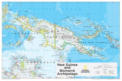 2014 New Guinea - National Geographic Atlas of the World, 10th Edition
