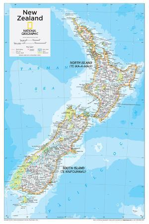 2014 New Zealand - National Geographic Atlas of the World, 10th Edition