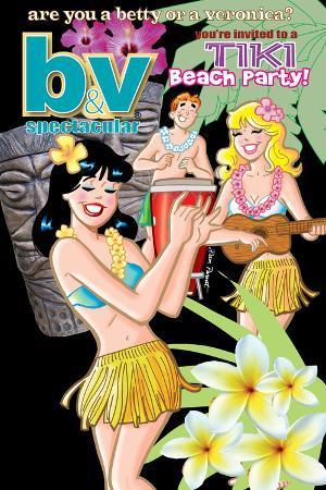 Archie Comics Cover: Betty & Veronica Spectacular No.78 Tiki Beach Party!