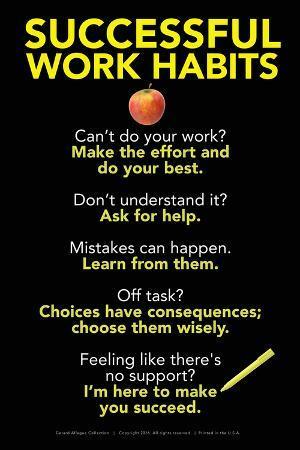 Successful Work Habits