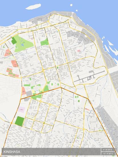 Kinshasa, Democratic Republic of the Congo Map on congo river, addis ababa, africa map, kampala map, kuala lumpur map, nairobi map, mogadishu map, praia map, brazzaville map, cairo map, malabo map, kigali map, leopoldville map, maputo map, lagos map, abidjan map, cape town map, timbuktu map, congo map, dar es salaam, cape town, luanda map, freetown map, yaounde map,