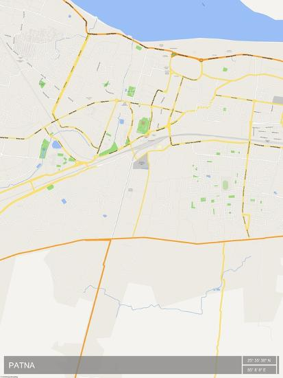 Patna In India Map.Patna India Map Prints At Allposters Com
