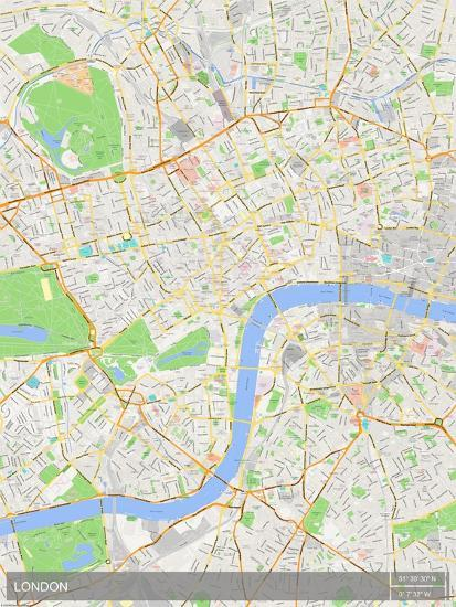 London, United Kingdom Map