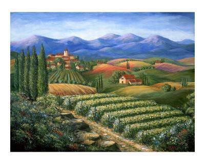 Tuscan Vineyard and Village