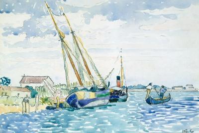 Marine Scene (Boats near Venice), 1903