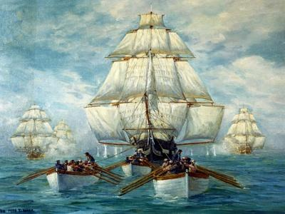 Chase Of The USS Constitution