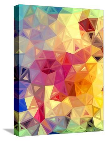 Colorful Abstract Triangles