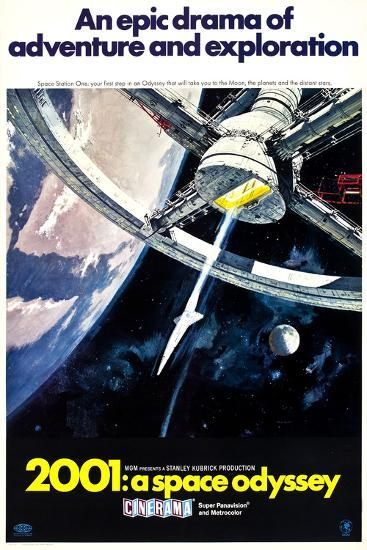 2001: A Space Odyssey' Posters | AllPosters.com