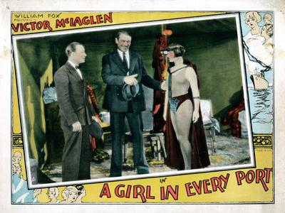A Girl in Every Port, Robert Armstrong, Victor Mclaglen, Louise Brooks, 1928