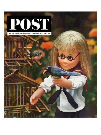 """New Toys 1963,"" Saturday Evening Post Cover, December 7, 1963"