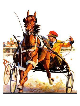 """Harness Race,""August 17, 1935"