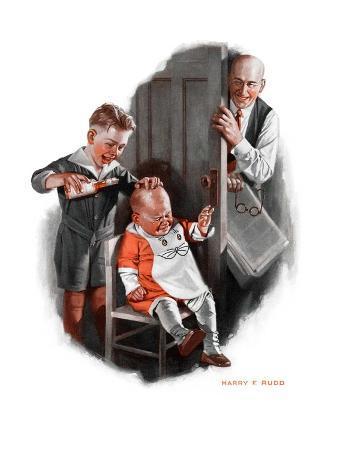 """""""Bald Baby,""""June 20, 1925"""