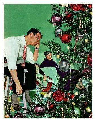 """""""Trimming the Tree,"""" December 24, 1949"""